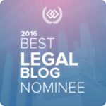 My Site is Nominated for The Expert Institute's Best Legal Blog Contest