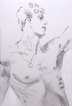 Triumph,-drawing