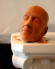 Clay Head on a Pedestal