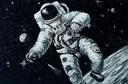 Space! Man.