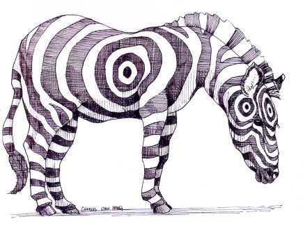 The Really Endangered Species List, Zebra