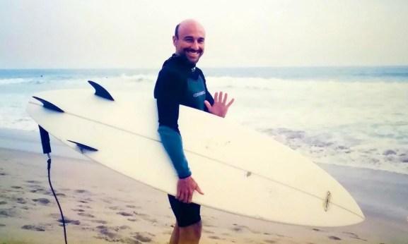 CLB surfing El Porto