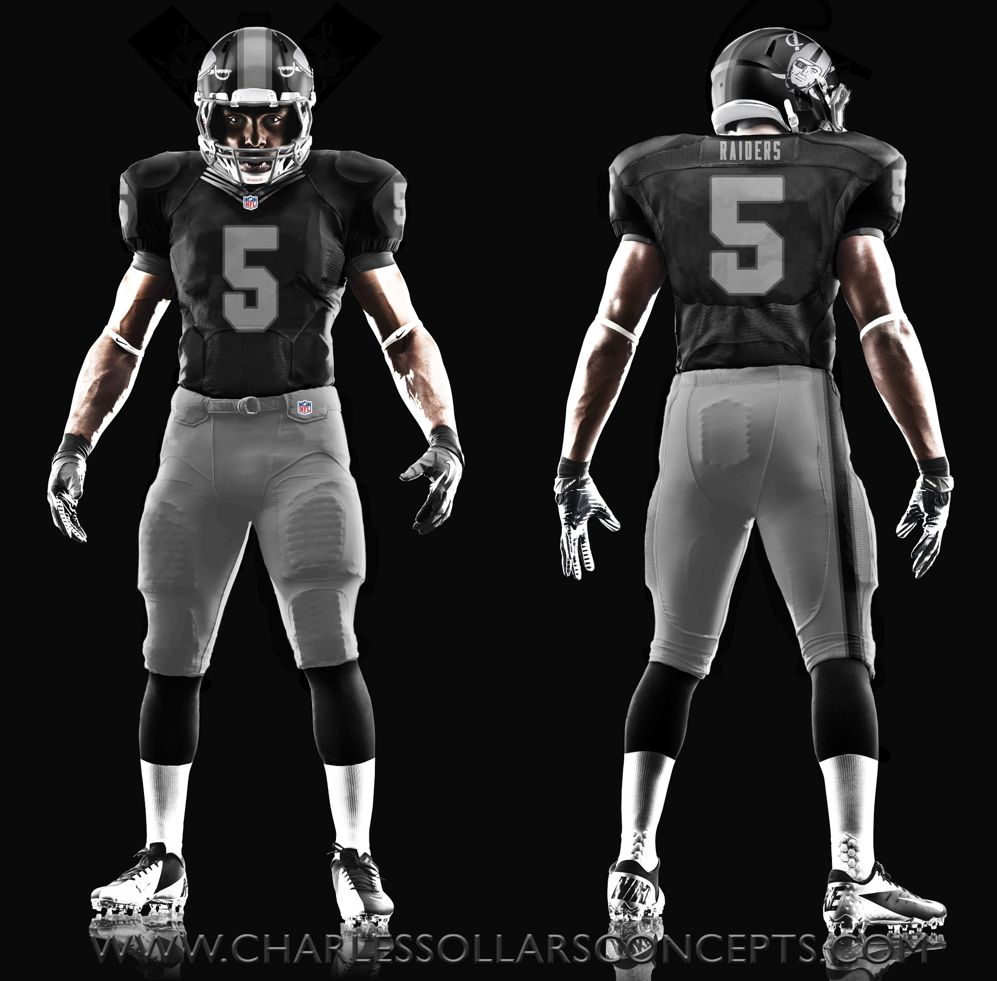 Raiders New Uniforms 2014 Raiders uni 3
