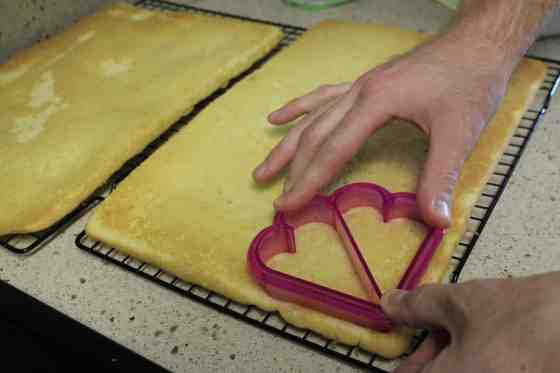 Homemade Hostess Valentines Cakes