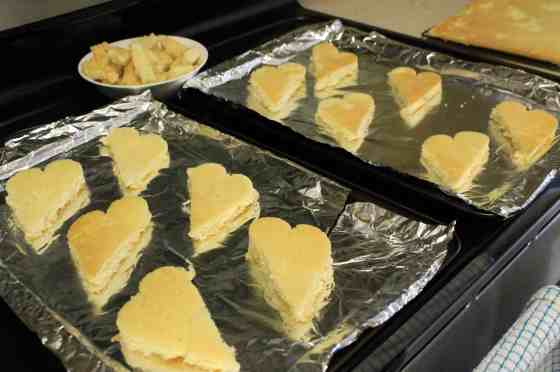 Homemade Hostess Valentines Cakes