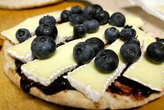 Blueberry Brie Grilled Cheese Pitas - Charleston Crafted