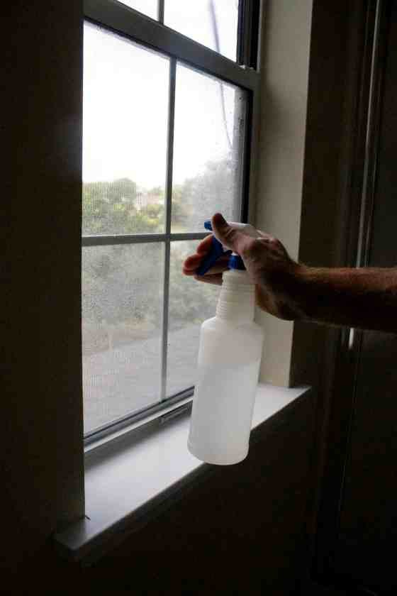 How to DIY Frost Window Glass - Charleston Crafted