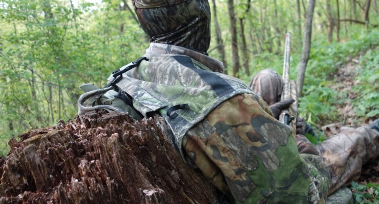 First Canadian Who Turkey Hunted in Wisconsin