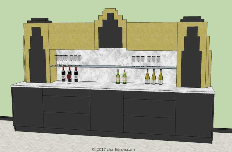 Large Of Art Deco Bar