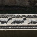 A remain of the second Hagia Sofia: The 12 apostles as sheep