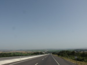 On the last stretch to the border, Turkey was quite flat
