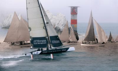 J.P. Morgan Asset Management Round the Island Race 201 - Photos Credit Beken of Cowes & Thierry ...