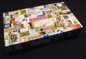Upcycled Decoupage Gift Box