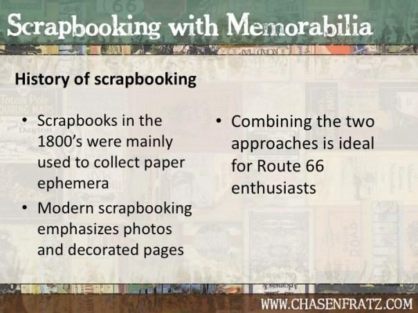 History of scrapbooking