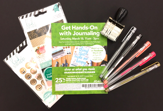 A hands-on opportunity to try out some fun products at JoAnn Fabrics and Crafts