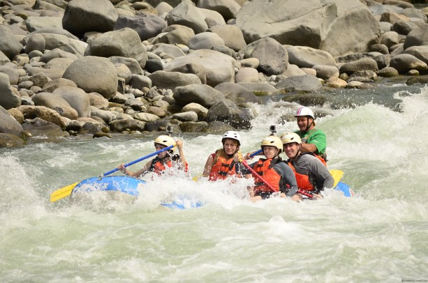 White water rafting adventure costa rica