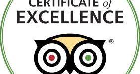 Certificat Excellence Trip Advisor 2016