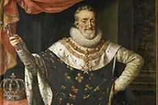 Portrait de Henri IV roi de France (1553-1610), Peinture de Frans Pourbus Le Jeune (Francois (Franz) Porbus, 1569-1622) Firenze, Galleria Palatina ©Raffael/Leemage