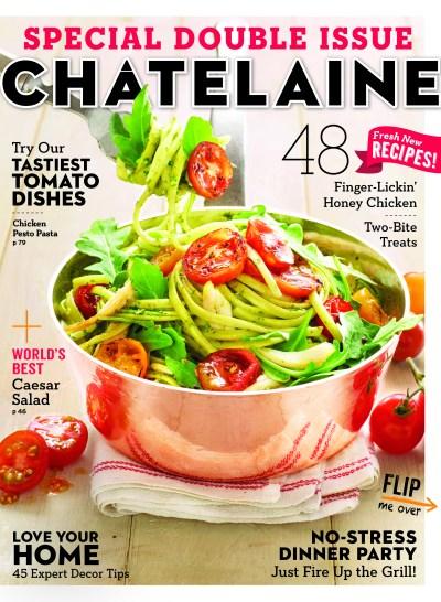 Chatelaine magazine September 2013