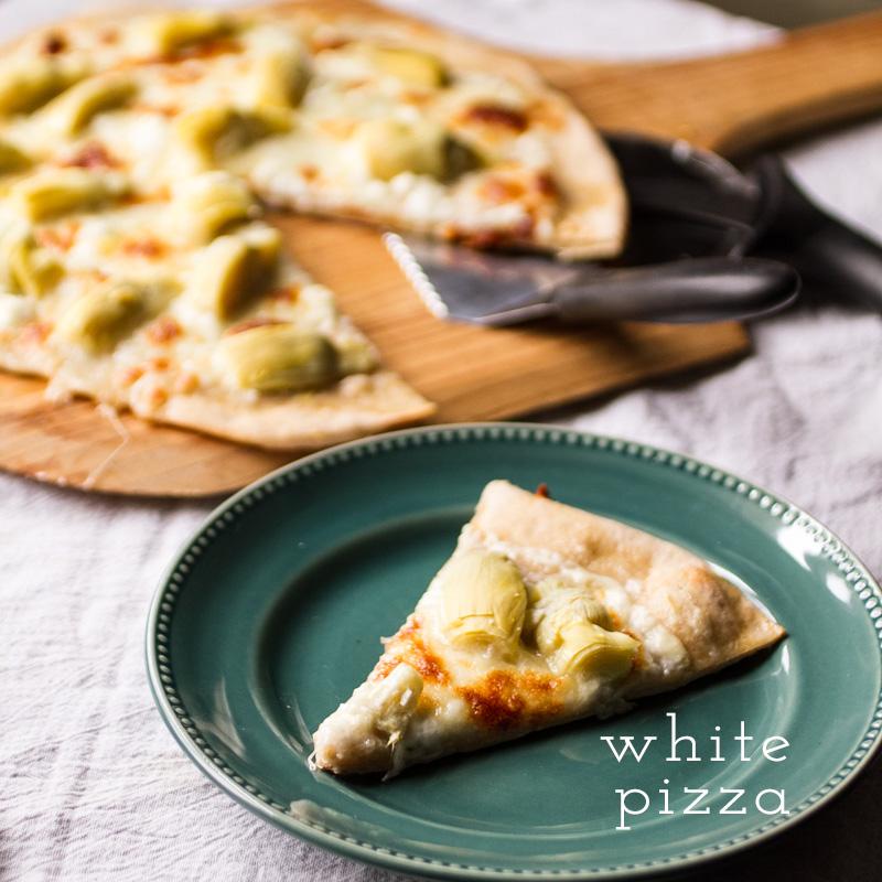 white pizza // chattavore