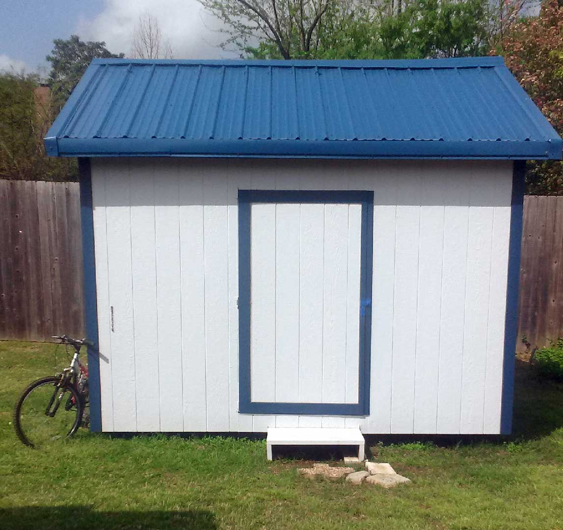 Deluxe Gable Roof Shed Metal
