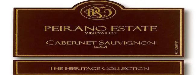 Peirano Heritage Collection Cabernet Sauvignon 2013