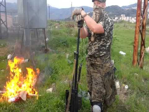 """""""Tarkhan's Jamaat"""": Chechen Fighters Burn Flags In Kassab, Latakia"""