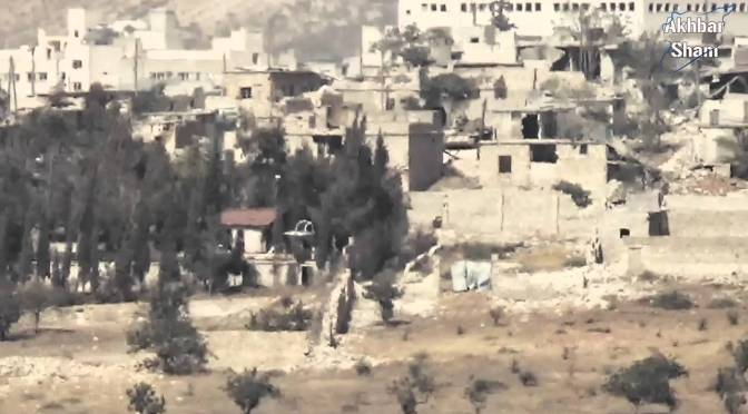 New Jaish al-Muhajireen wal-Ansar Video: Snipers in Layramoun