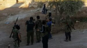 Fighters of Jamaat Ahadun Ahad carrying out ribat in Latakia|Photograph released by the group on August 10th.
