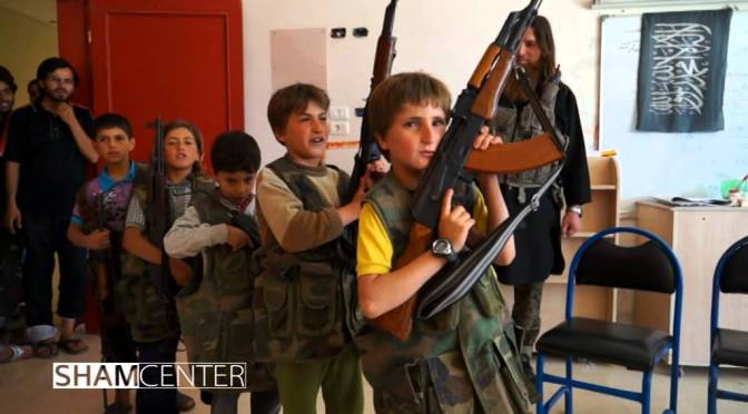Video: Muslim Shishani Visits Training Center for Young Mujahideen