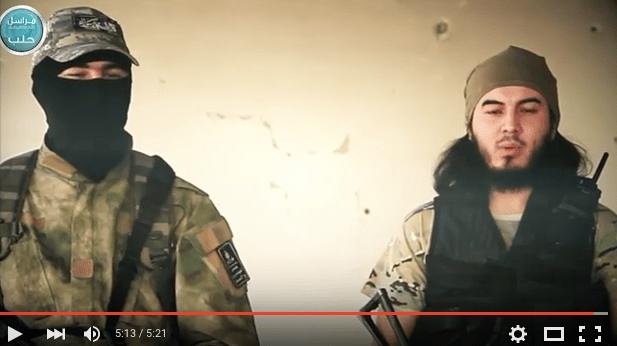 Liwa Al-Muhajireen Appear In New Nusra Video: 'Syria Is The Graveyard Of The Occupiers'