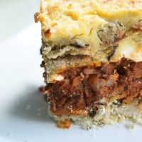 Moussaka - Classic Greek recipe for home