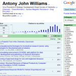Antony Williams on Google Scholar Citations