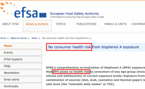 EFSA BPA Press release-highlighted