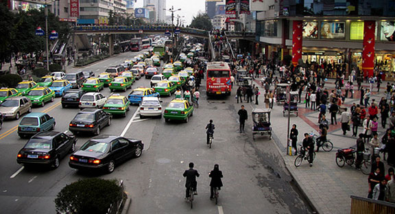 Chengdu traffic
