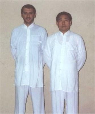 Con Chen xiaowang nel 2000