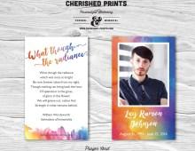 Orlando Strong LBGTQ Rainbows Prayer Cards