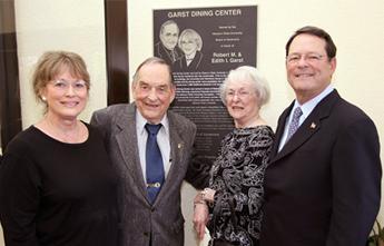 Judy Garst-Brown, Robert & Edith Garst, Robert Garst, Jr.