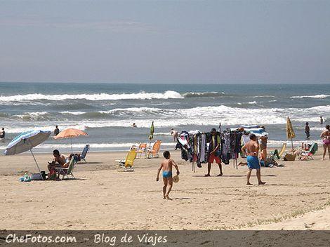 Praia Capãao da Canoa, RS, Brasil