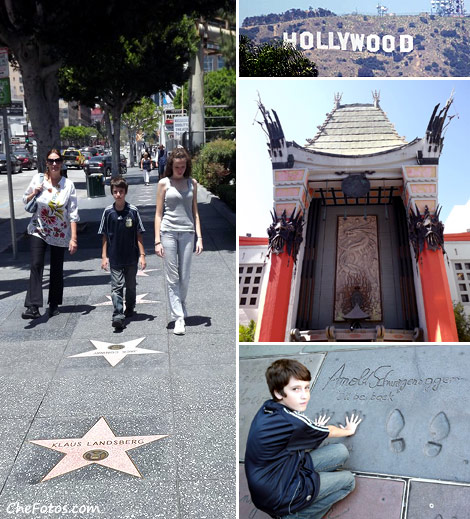 Paseo de la Fama - Hollywood Blvd