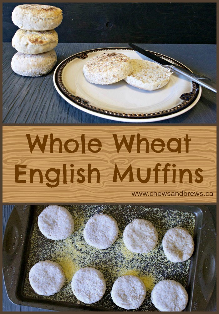 Whole Wheat English Muffin