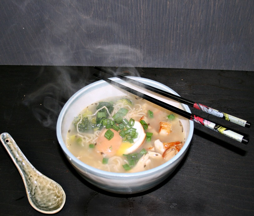 Turkey Ramen Noodle Bowl