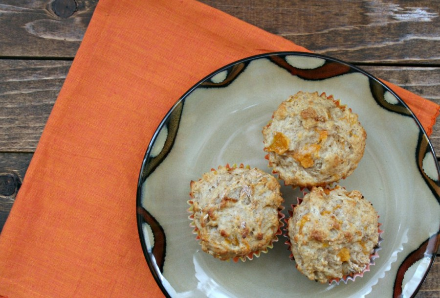 Cardamom Apricot Muffins