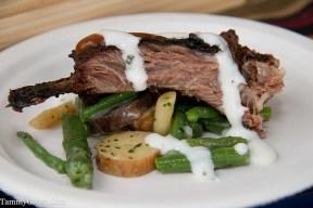 Tamarind BBQ Lamb Ribs w/Summer Bean Salad | Four Seasons
