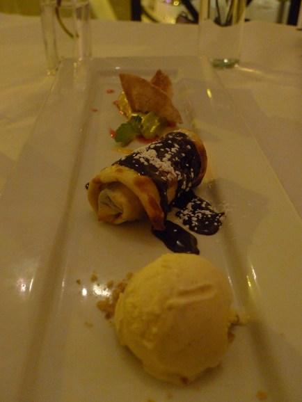 Dessert tasting trio