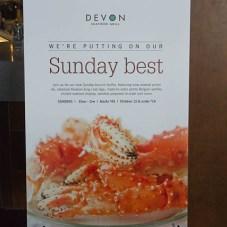 Sunday Best | Devon Seafood Restauran