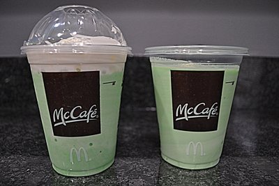 Shamrock Shake RE-view–does it still truly rock?