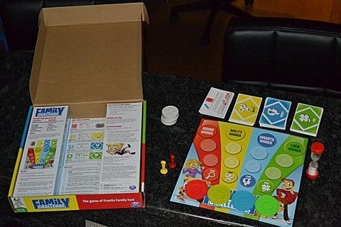 Review: Family Challenge by Spin Master Games