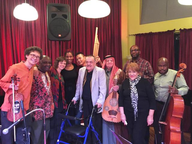 Chicago Folklore Ensemble with master musicians