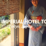 The Imperial Hotel Tour in Tokyo, Japan